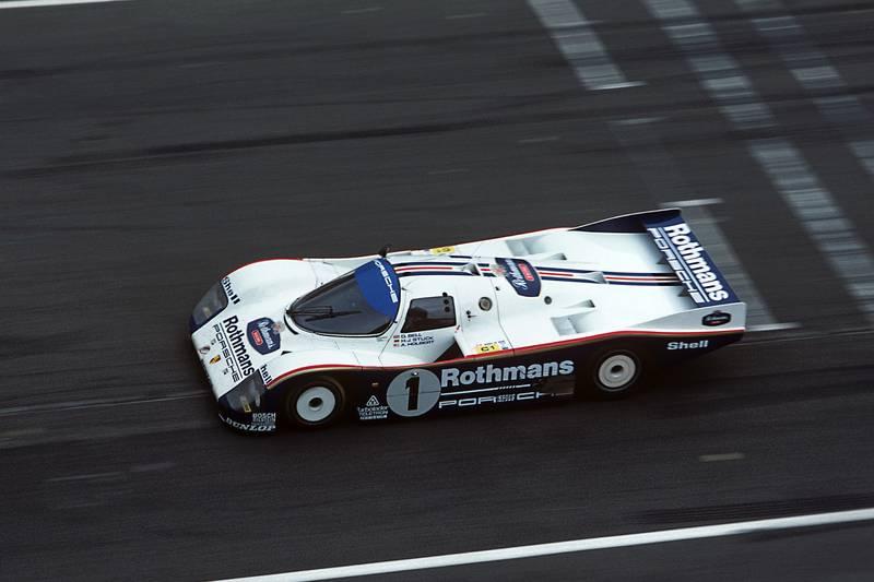 1986 Le Mans, Porsche 962