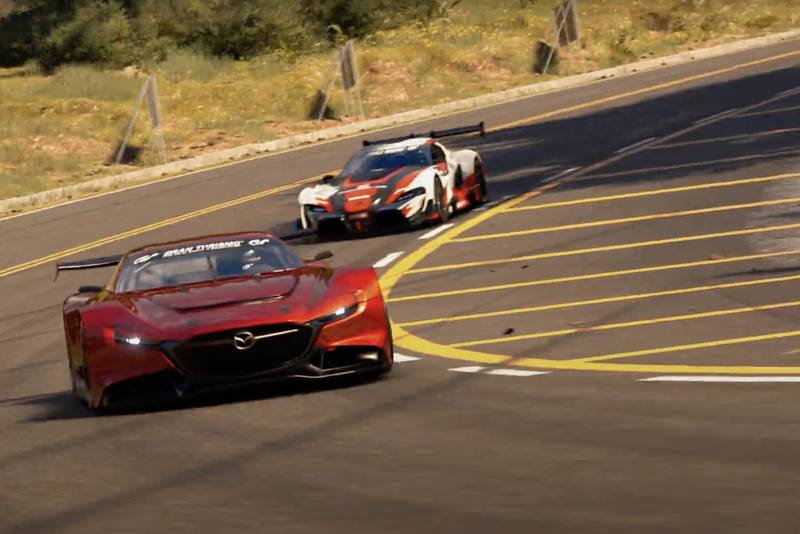 Gran Turismo 7 preview footage