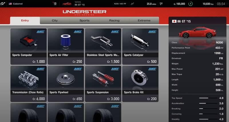 Gran Turismo 7 preview shop