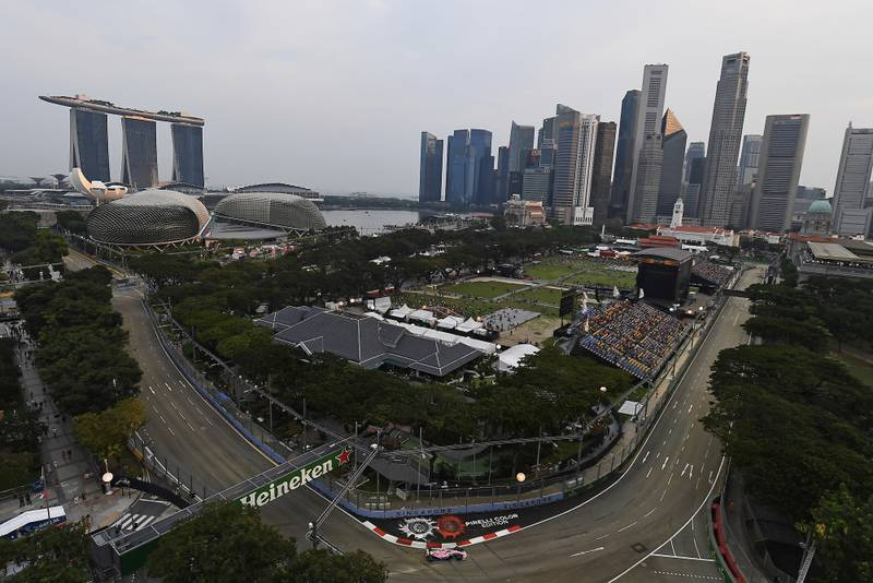 Singapore, Azerbaijan and Japanese Grands Prix are cancelled for 2020 F1 season