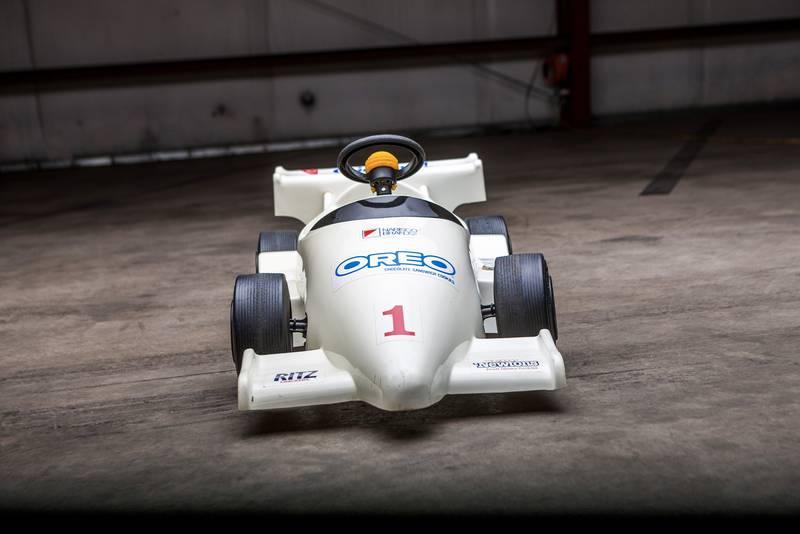 Oreo F1 pedal car