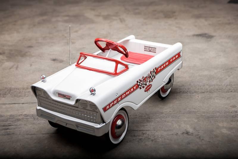 Speedway pace car pedal car