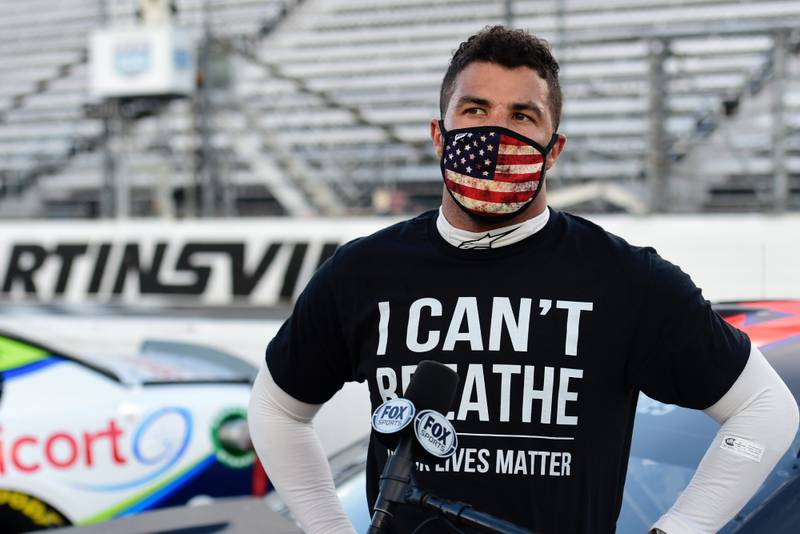 "'I will not back down'"" Bubba Wallace responds after noose found in his garage"