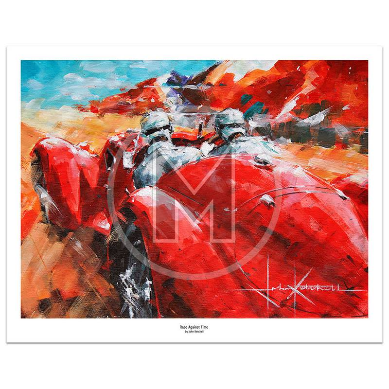 Product image for Race Against Time | Limited Edition Print