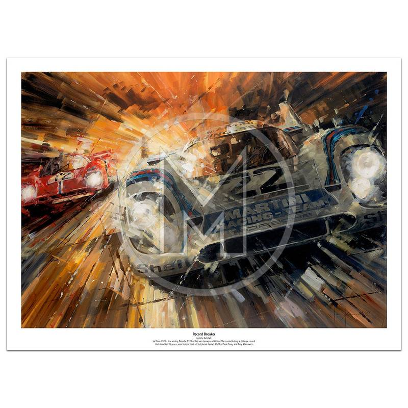 Product image for Record Breaker | Limited Edition Print