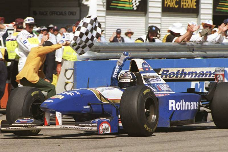 Damon Hill race suit & helmet sell for £40k in charity auction