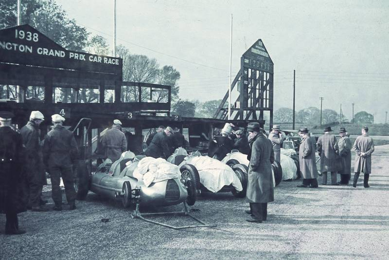 """Greatest British race"" in colour: Donington 1938 pictures uncovered"