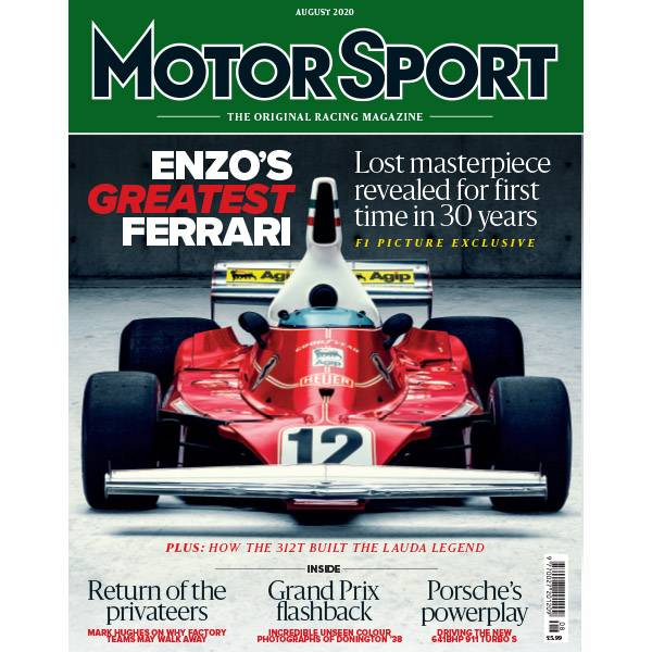 Product image for August 2020 | Enzo's Greatest Ferrari | Motor Sport Magazine