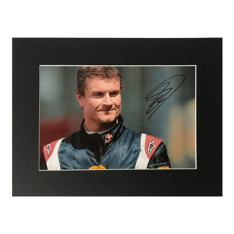 Product image for David Coulthard - Red Bull - 2006 | photo print display | signed David Coulthard