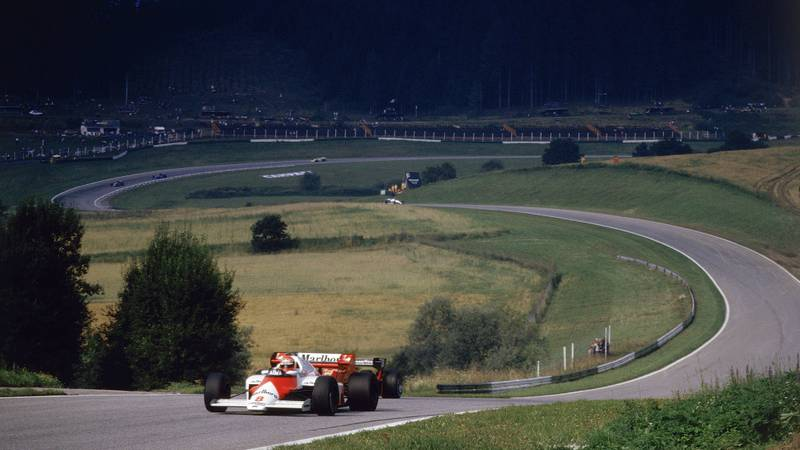 Niki Lauda at the Osterreichring