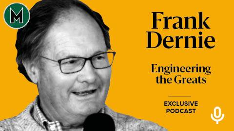 Podcast: Frank Dernie, Engineering the Greats