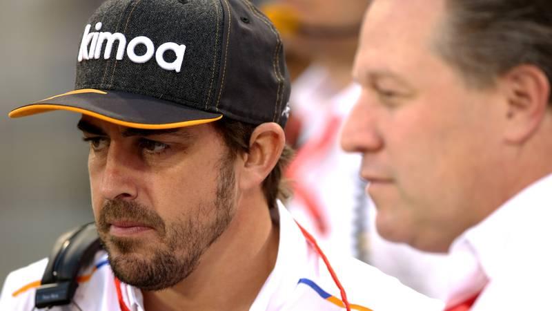 Fernando Alonso, Bahrain GP 2019
