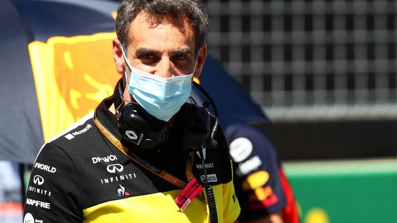 Cyril Abiteboul, 2020 Austrian GP