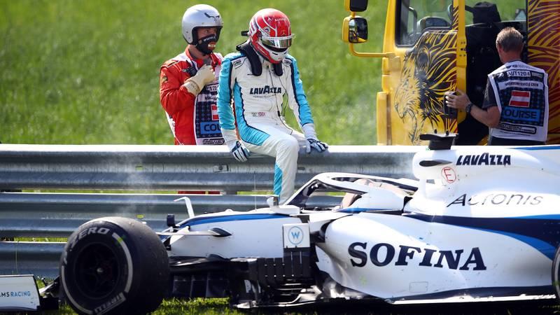 George Russell, 2020 Austrian GP