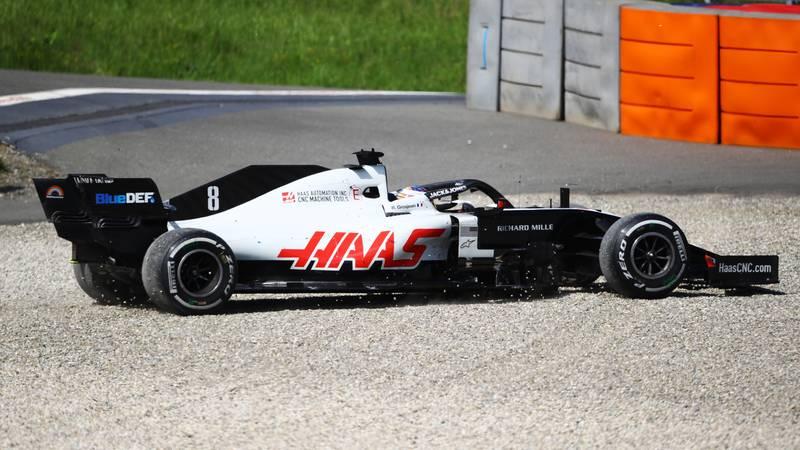 Romain Grosjean, 2020 Austrian GP