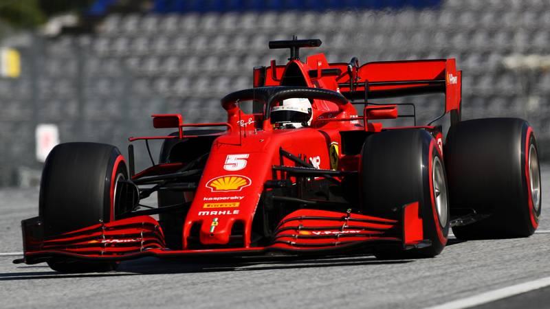 Sebastian Vettel, 2020 Austrian GP