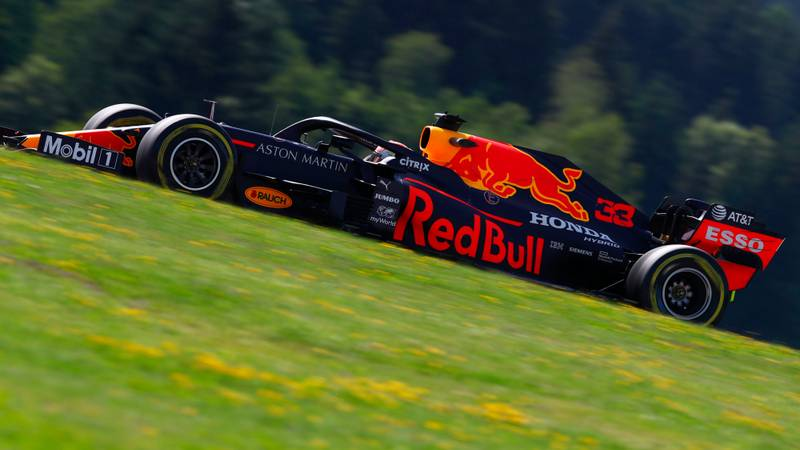 Verstappen fastest on Friday as rain looms over Styrian GP qualifying