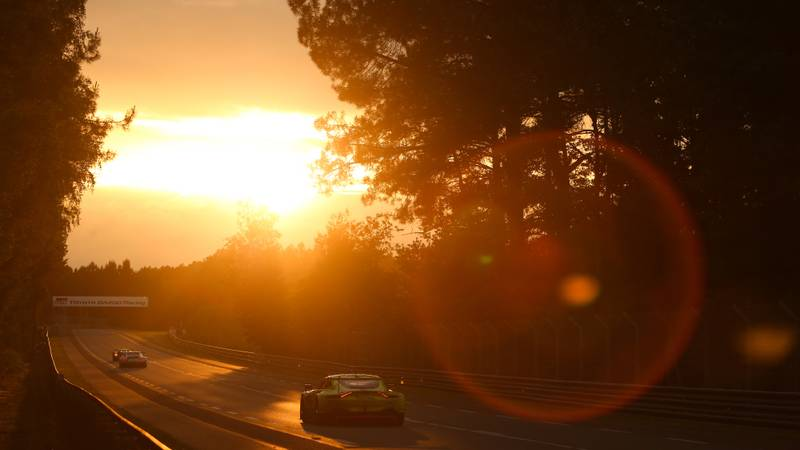Le Mans 2019 sunset