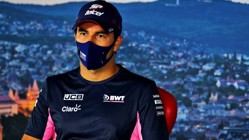 Perez contacted by rival team as Racing Point/Aston Martin rumours grow