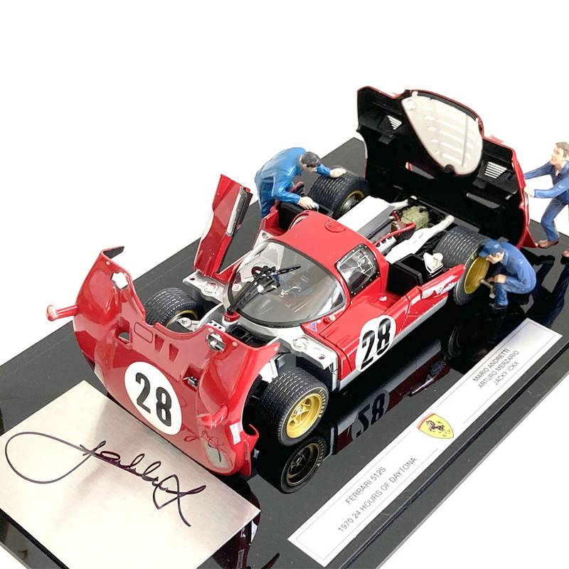 Product image for Ferrari 512S, 24hrs Daytona diorama, signed Jacky Ickx
