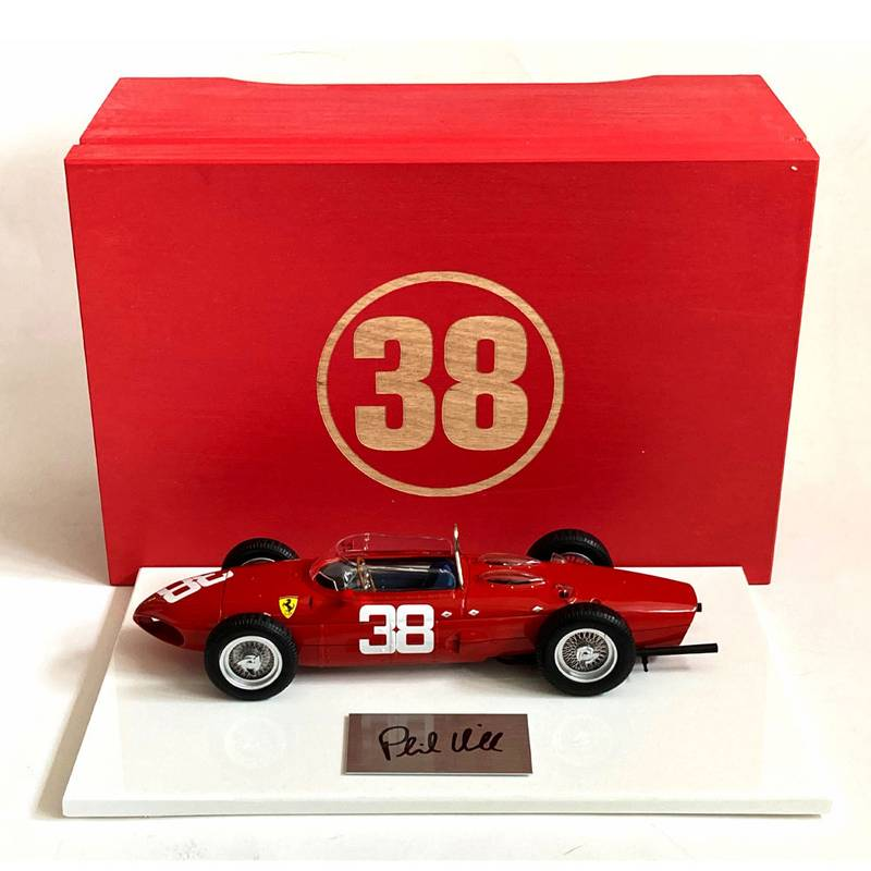 Product image for Boxed 1:18 Ferrari 156 'Sharknose' Monaco GP, signed Phil Hill
