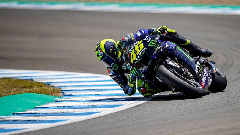 Valentino Rossi, Yamaha Jerez MotoGP 2020