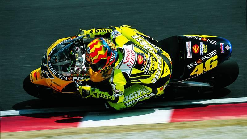 Valentino Rossi, Honda MotoGP 2001