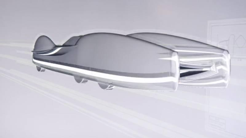 Mercedes T 80 airflow diagram