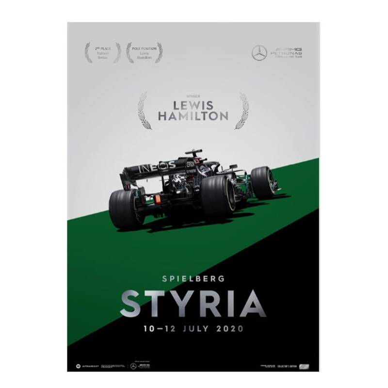 Product image for Mercedes-AMG Petronas F1 Team - Styria 2020 - Lewis Hamilton | Collector's Edition