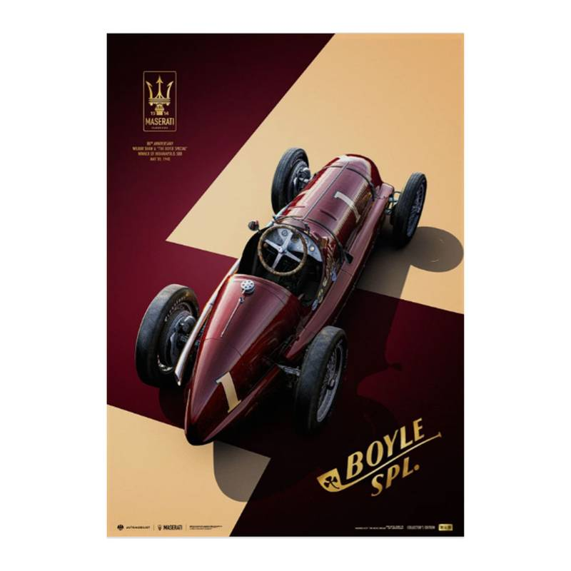 Product image for Maserati 8CTF - The Boyle Special - Indianapolis 500 Mile Race - 1940 | Collector's Edition