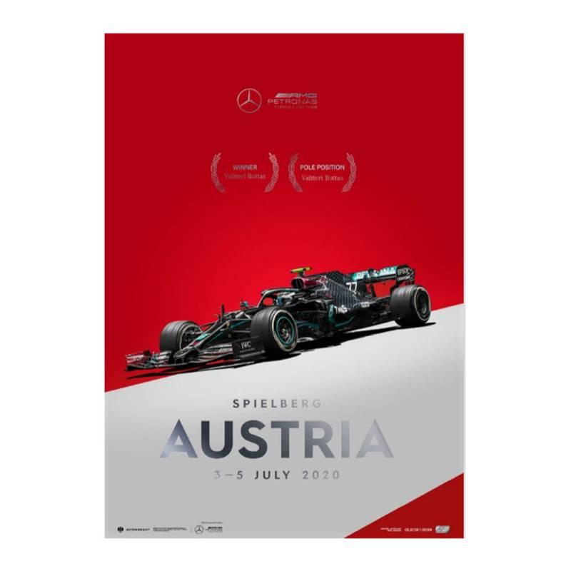 Product image for Mercedes-AMG Petronas F1 Team - Austria 2020 - Valtteri Bottas | Collector's Edition