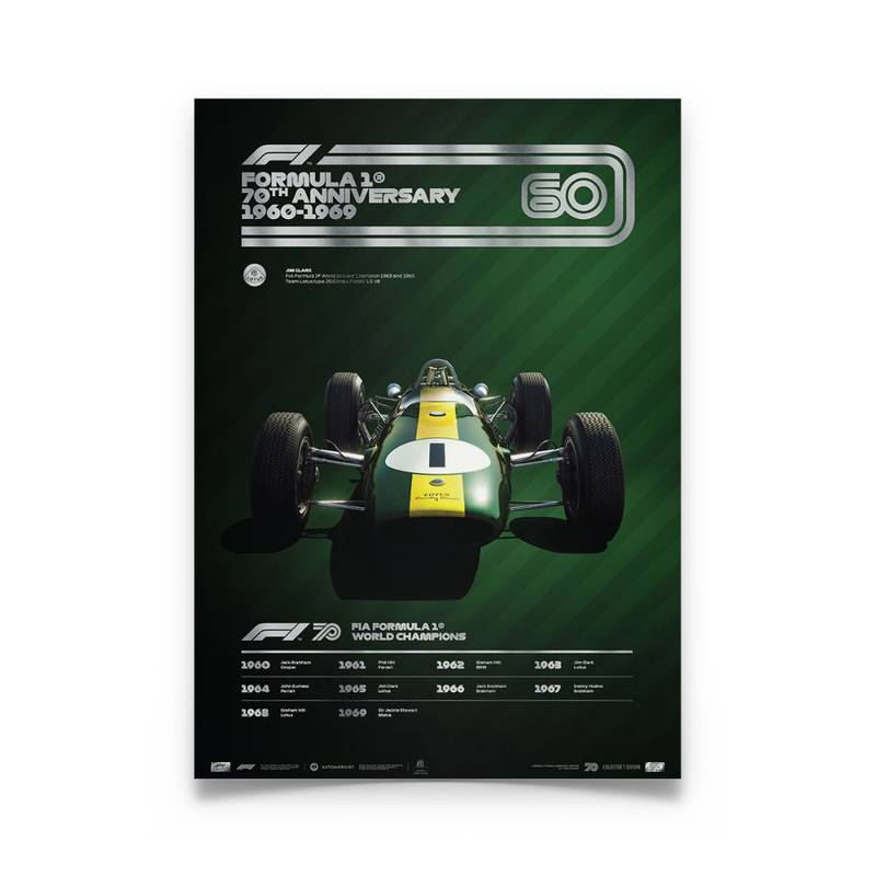 Product image for Formula 1® Decades – 60s Team Lotus | Collector's Edition