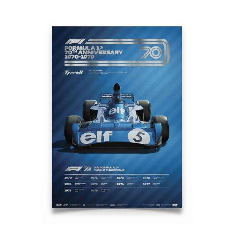 Product image for Formula 1® Decades – 70s Tyrrell | Collector's Edition