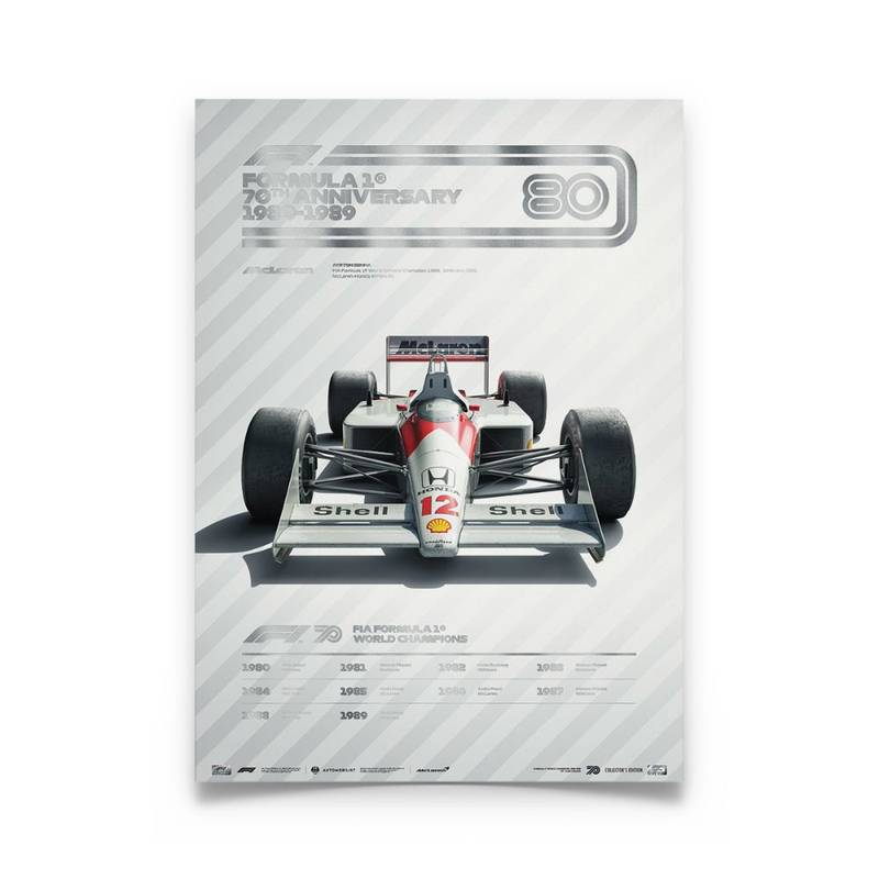 Product image for Formula 1® Decades – 80s McLaren | Collector's Edition
