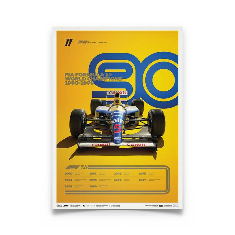 Product image for Formula 1® Decades – 90s Williams | Limited Edition