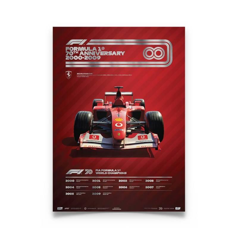 Product image for Formula 1® Decades – 2000s Ferrari | Collector's Edition