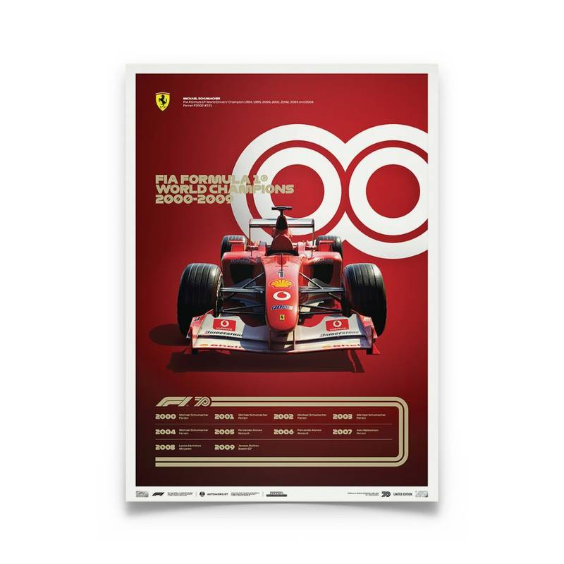 Product image for Formula 1® Decades – 2000s Ferrari | Limited Edition