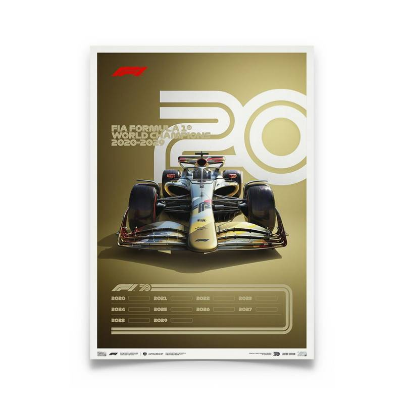 Product image for Formula 1® Decades – 2020s The Future Lies Ahead | Limited Edition