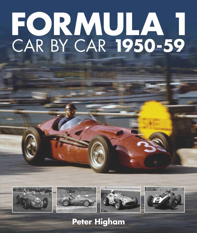 Formula 1 Car bu Car 1950-59 cover image
