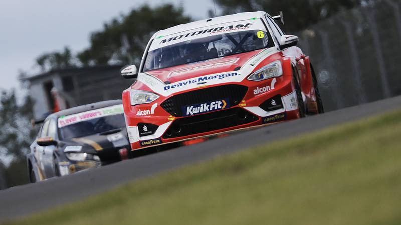 Rory Butcher in the opening rounds of the 2020 BTCC championship
