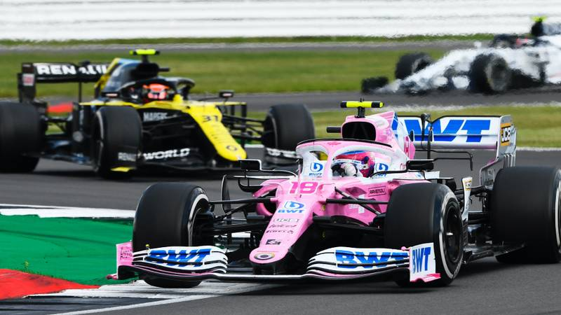 Racing Point fined and docked points after stewards side with Renault in copycat protest