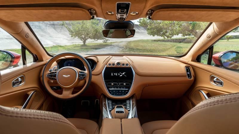 2020 Aston Martin dashboard