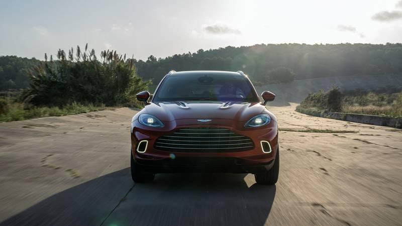2020 Aston Martin DBX front