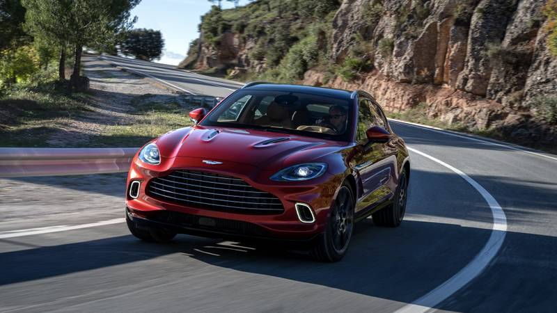 Aston Martin DBX review: SUV that's set up for Silverstone