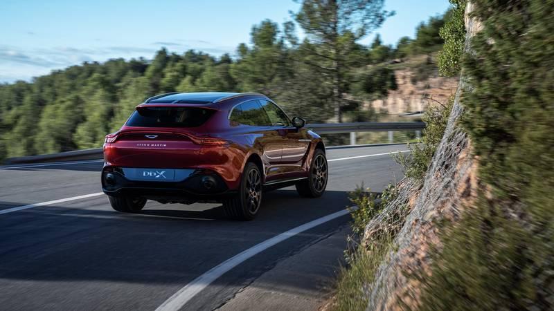 2020 Aston Martin DBX rtq