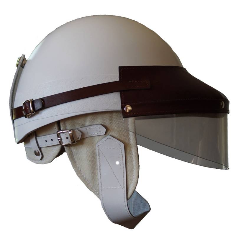 Product image for El Chico | Helmet & Guard Visor Set - Stirling Moss | Suixtil