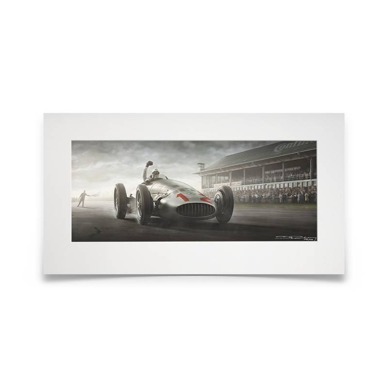 Product image for The Fatherland's Finale | Nürburgring, Germany / 23 July 1939 | Artwork