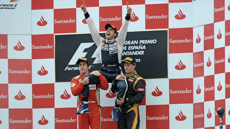 Pastor Maldonado recalls his Spanish GP win — and F1 title dream
