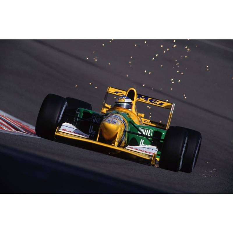 Product image for 1992 Schumacher's First Victory | Getty Images | Premium print