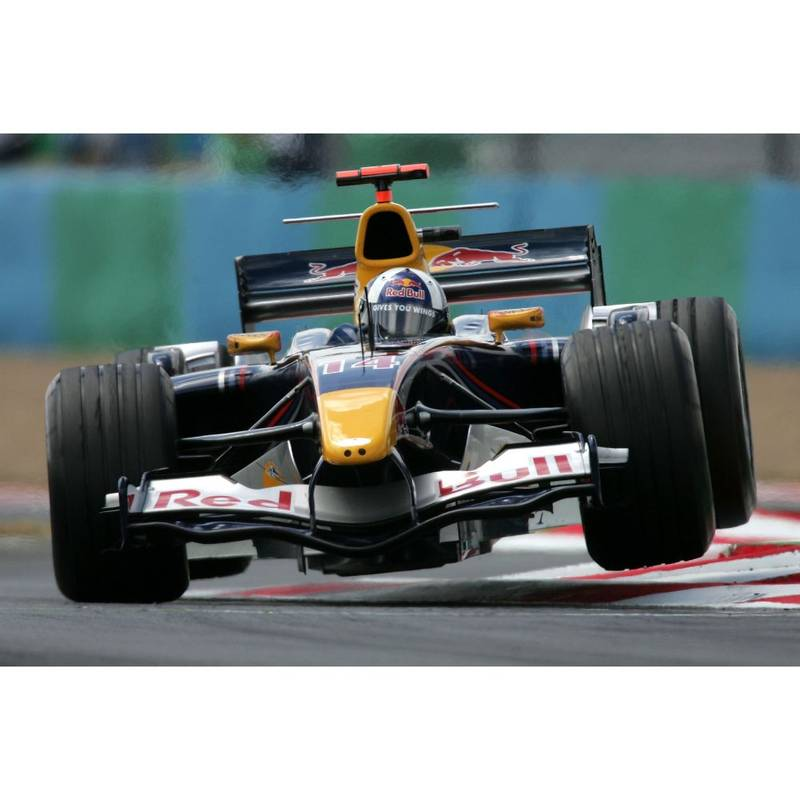 Product image for David Coulthard Practice for the French Grand Prix | Getty Images | Premium print